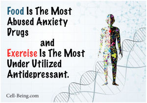 Diet: Food Abused anxiety Exercise antidepress