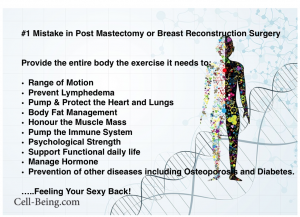 Exercise for Breast Reconstruction Best In Health Radio